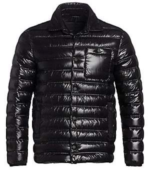 Ermenegildo Zegna Men's High-Shine Two-In-One Puffer Jacket