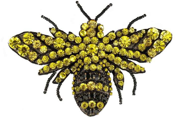 GucciBee brooch with beads