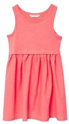 MANGO Flared skirt dress