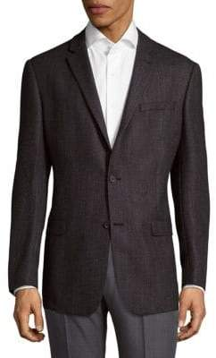 Michael Kors Two-Button Tweed Sportcoat