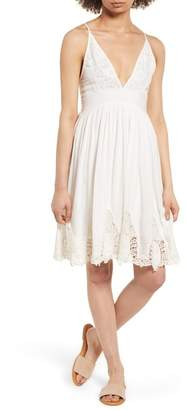Raga Janika Crochet & Lace Trim Dress