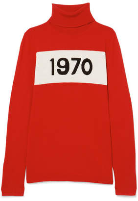 Bella Freud 1970 Wool Turtleneck Sweater - Red