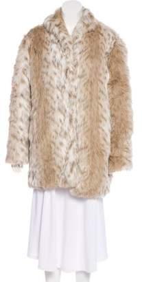 One Teaspoon Lonely Hearts Faux Fur Coat w/ Tags