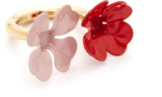Marni Ring with Metal Flower