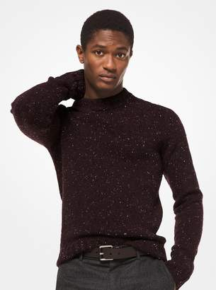 Michael Kors Donegal Wool-Blend Pullover