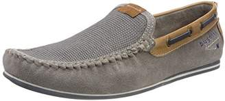 Mens 321469633469 Moccasins, Grey, 8 UK Bugatti
