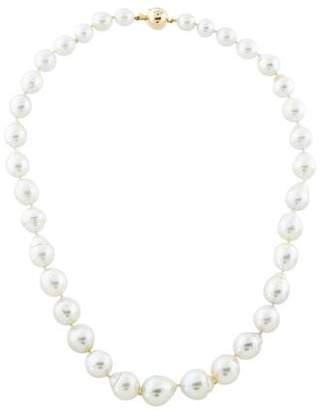 14K Baroque Pearl Strand Necklace