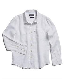 The Academy Brand Hampton Linen Shirt (Boys 8-14 Years)