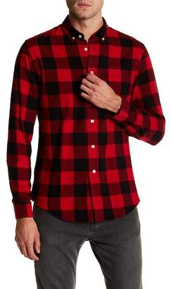Slate & Stone Button-Down Collar Flannel Shirt