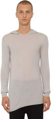 Rick Owens Virgin Wool Knit Sweater