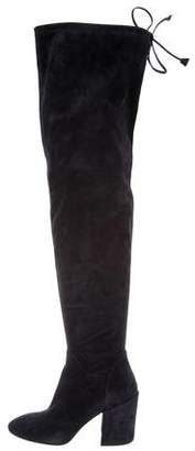 Aquatalia Suede Over-The-Knee Boots w/ Tags