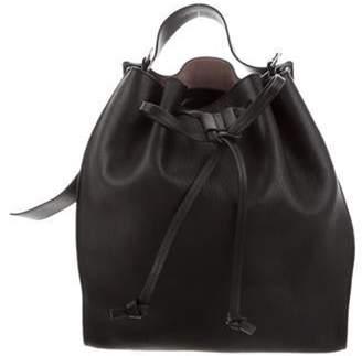 J.W.Anderson Leather Bucket Bag Black Leather Bucket Bag
