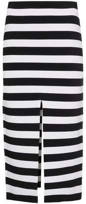 Proenza Schouler Stripe Knit Pencil Skirt