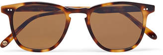 Garrett Leight California Optical Brooks 47 D-frame Tortoiseshell Acetate Sunglasses