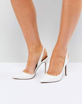 Asos (エイソス) - ASOS PREFECT Slingback Pointed Heels