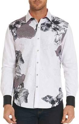 Robert Graham Floral Geometric Long Sleeve Button-Down Shirt - Limited Edition