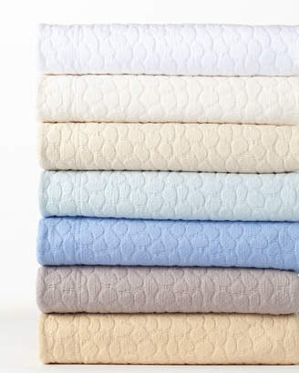Annie Selke Luxe King Sassolino Coverlet