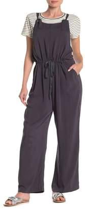 Susina Knot Strap Woven Jumpsuit (Regular & Petite)