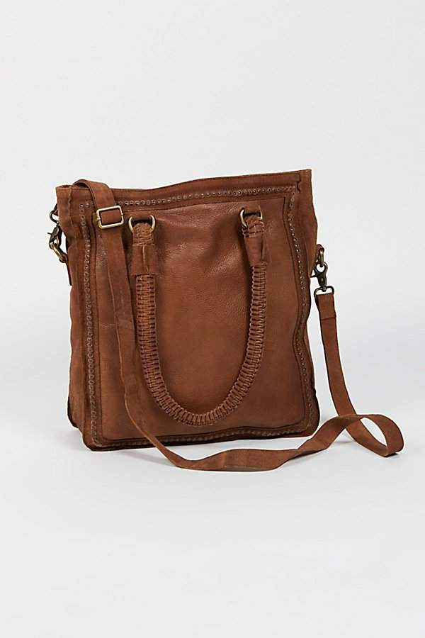 Farrah Leather Tote by Free People