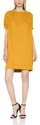 PepaLoves Women's Cleo Mustard Casual Dress,8