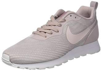 more photos 77d33 9b9fe ... Nike Women s WMNS MD Runner 2 ENG MESH Gymnastics Shoes, Pink (Particle  White