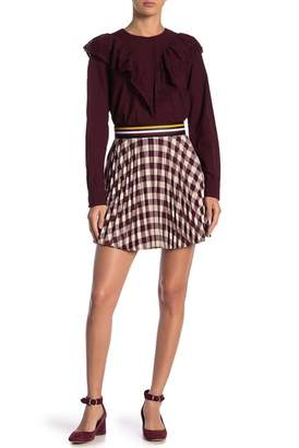 Paul & Joe Sister Checkout Pleated Skirt