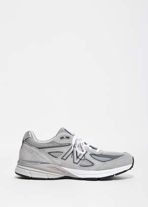 New Balance 990 Leather Mesh Sneakers