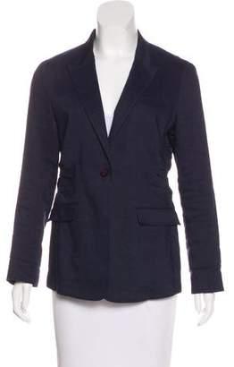 Burberry Virgin Wool & Linen Blazer
