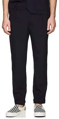 Barena Venezia Men's Virgin Wool Cuffed Trousers