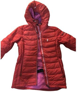 Peak Performance Red Coat for Women