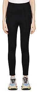 Balenciaga Women's Crepe-Knit Jogger Pants-Black