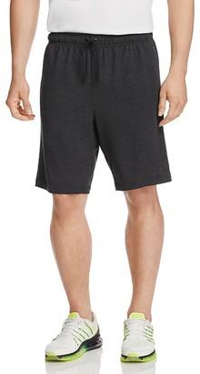 Nike Dri-FIT Fleece Training Shorts $50 thestylecure.com