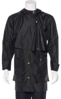 Public School Hooded Snap Front Jacket
