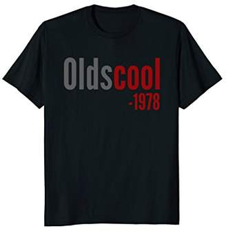Vintage 1978 Funny Old School 40th Birthday Gift T-shirt