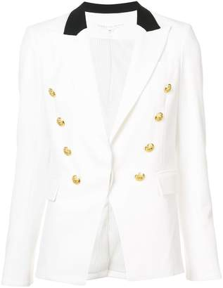 Veronica Beard V-neck button blazer