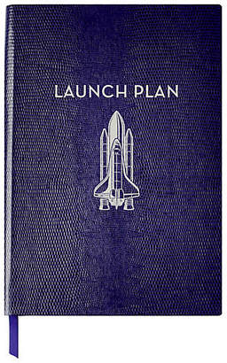 Sloane Stationery Launch Plan Journal - Navy
