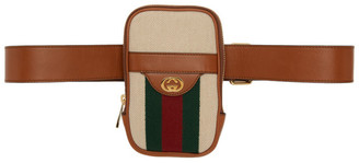 Gucci Beige Vintage Belted iPhone Pouch