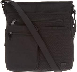 Lug North/South Convertible RFID Crossbody - Monorail