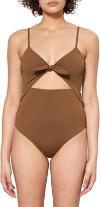 Mara Hoffman Kia Cutout One-Piece Swimsuit