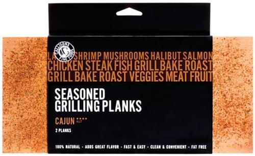 Cajun Grill Planks, S/2