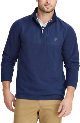 Chaps Men's Regular-Fit Fleece Quarter-Zip Pullover