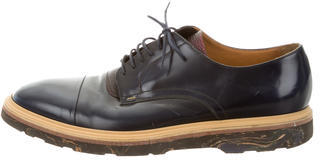 Paul Smith Paul Smith Leather Cap-Toe Derby Shoes