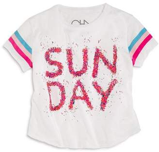 Chaser Girls' Sunday Sprinkles Tee - Little Kid, Big Kid