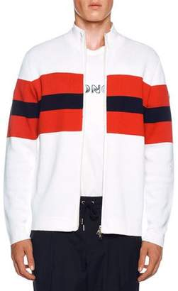 Moncler Men's Tricolor Zip Cardigan