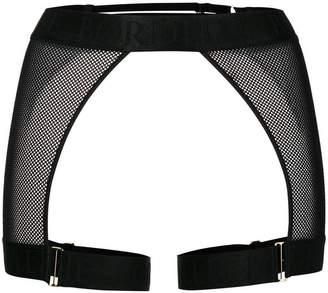 Bordelle mesh crotchless briefs