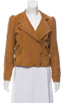 IRO Suede Moto Jacket