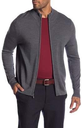 Brooks Brothers Merino Wool Zip Jacket