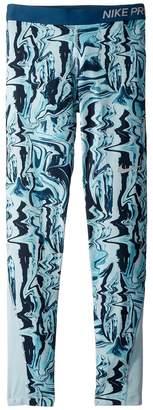 Nike Pro Print Tight Girl's Casual Pants