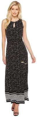 MICHAEL Michael Kors Nora Border Maxi Dress Women's Dress
