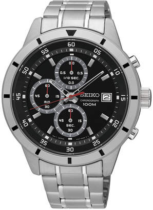 Seiko Men's Chronograph Special Value Stainless Steel Bracelet Watch 43mm SKS561